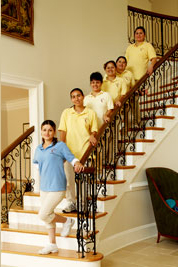 maid cleaning service employees